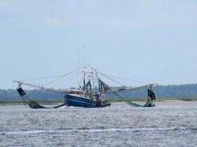 shrimp boat off Jekyll Island