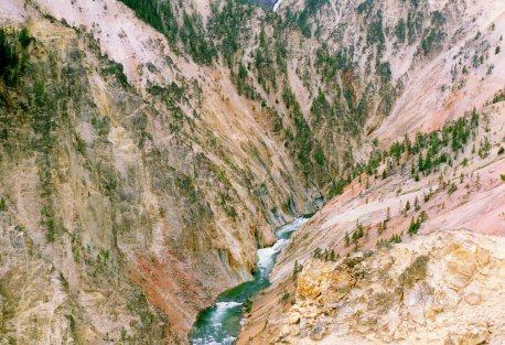 YellowstonesGrandCanyonYNP21Aug1992