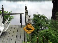 Crocodile sign, 8 July 2013