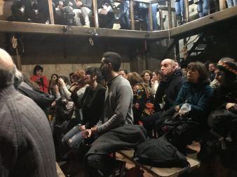 O publico de O Serán durante o show | Agustín Leirós