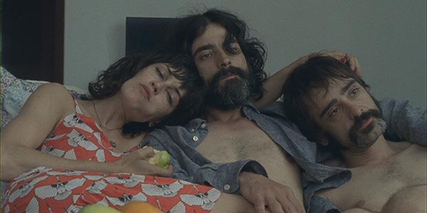 Unha imaxe do filme cos tres protagonistas | A Estación Violenta