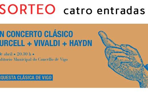 Gaña unha entrada para ver a Orquestra Clásica de Vigo
