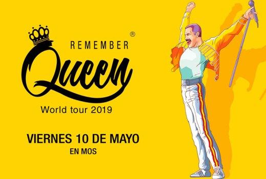 Sorteo de dúas entradas para As Baloutas Fest: Remember Queen