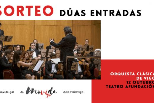 Consigue unha entrada para ver á Orquesta Clásica de Vigo