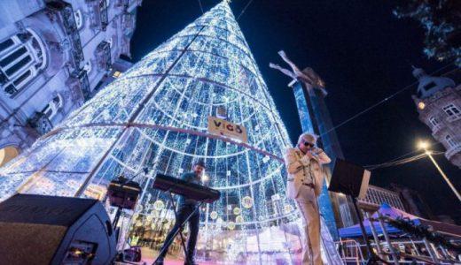 Máis de 3 millóns de persoas pasaron pola árbore este Nadal