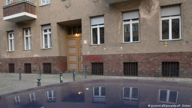Gandoulou's body was found inside this Charlottenburg-Berlin building