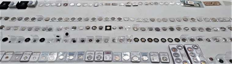Gold Silver Coins Currency and Bullion