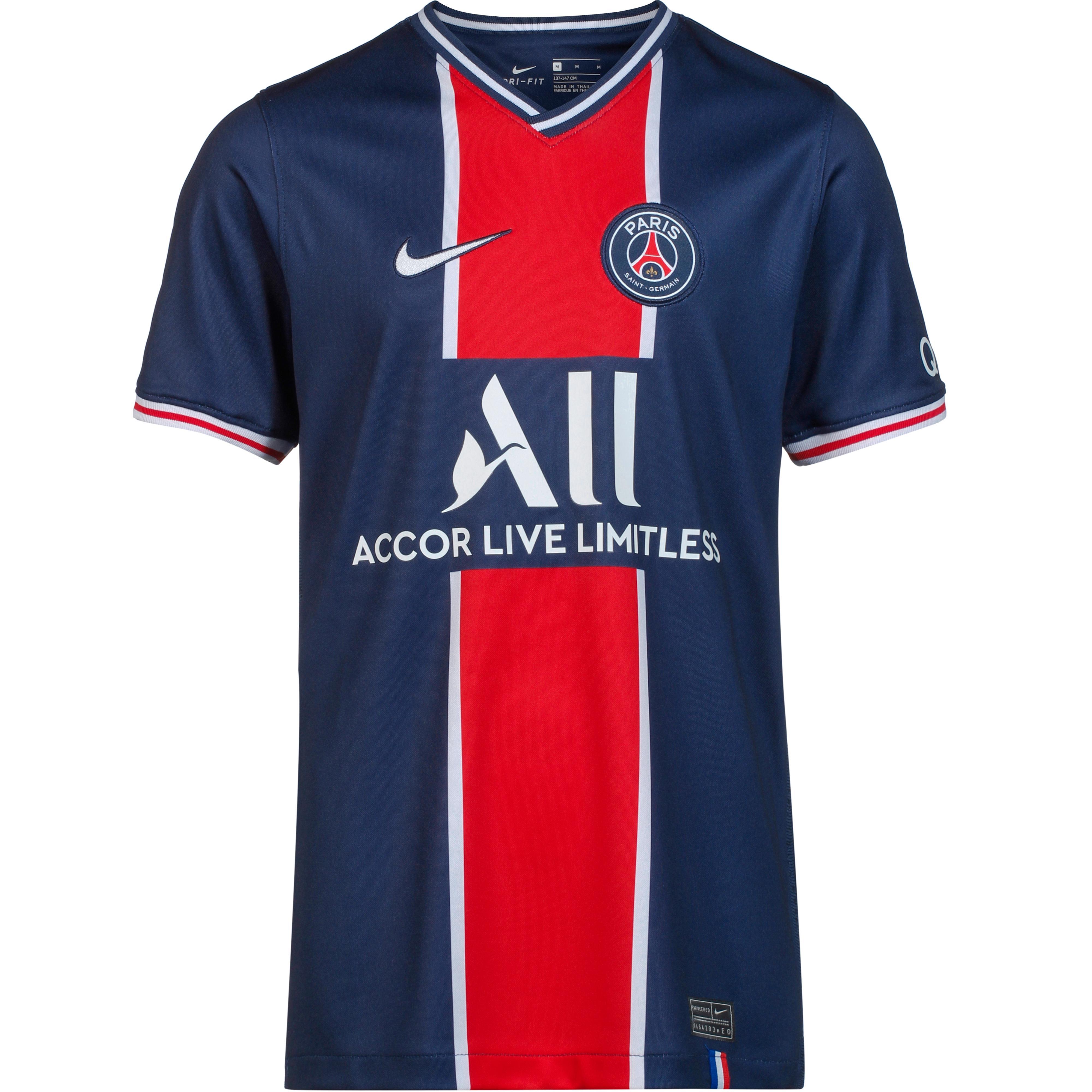 nike paris saint germain 20 21 heim trikot kinder midnight navy white im online shop von sportscheck kaufen