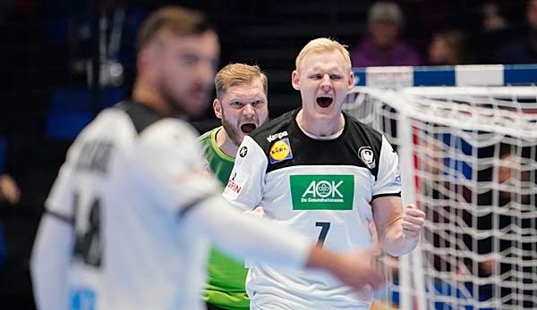 handball em dhb team wann spielt