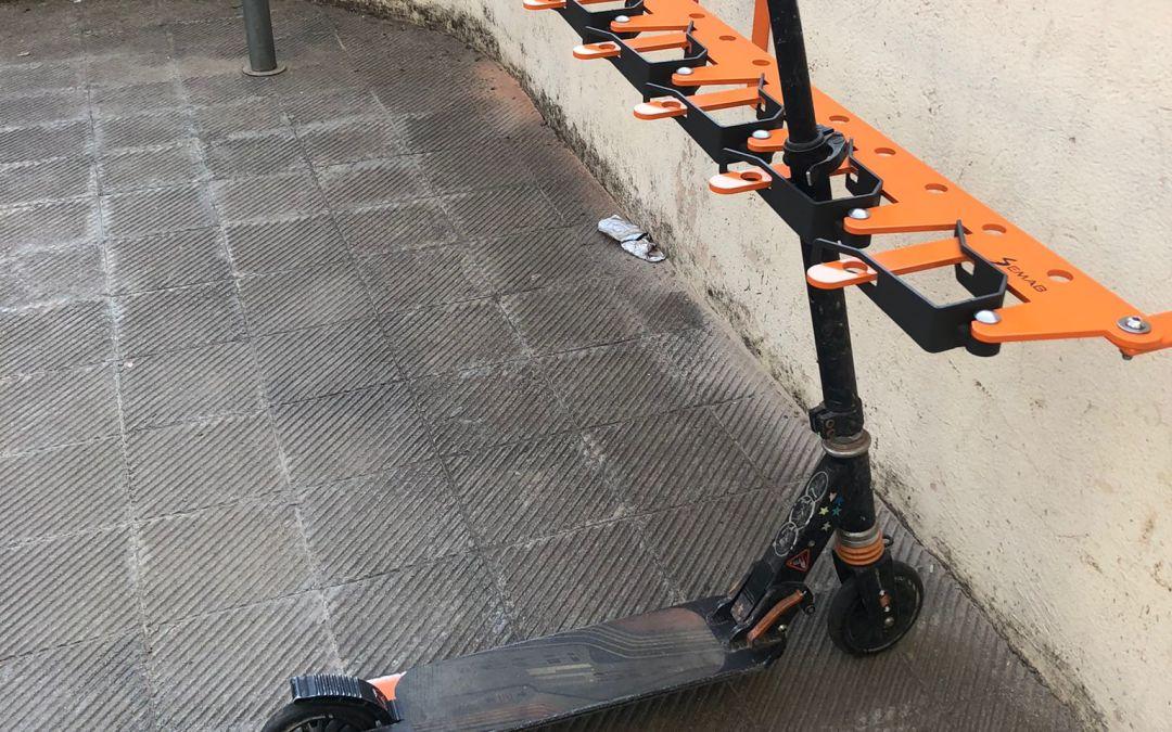 Nou Parking per a patinets a l'escola