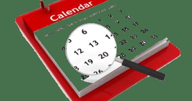 Calendario de matriculaciones y recogida de notas septiembre de 2017