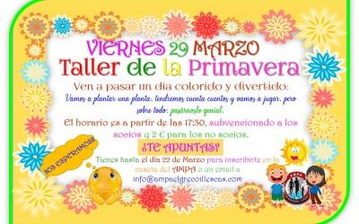 Taller Primavera 29 Marzo 2019