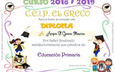 Graduación 2018/2019
