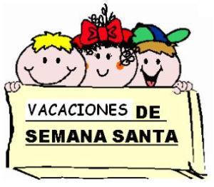 NO LECTIVO || VACACIONES SEMANA SANTA