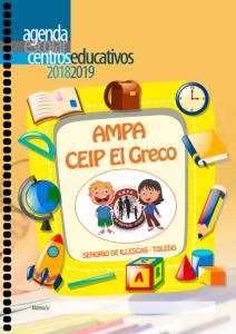Reserva Agenda y Mochila Curso 18 19 @ AMPA El Greco