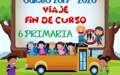 Nota Viaje Fin de Curso Junio 2020