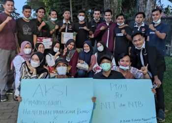 Aksi Kemanusiaan, HMBJ dan IKMM Galang Dana Untuk Korban Bencana NTT & NTB