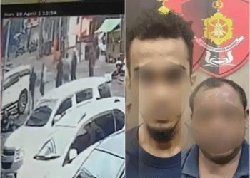 Lima pelaku pengeroyokan anggota brimob dan kopassus di kebayoran baru ditangkap (Istimewa)