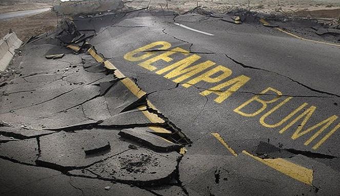 Ilustrasi gempa bumi/ist.net