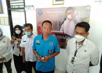 Kepala BNNK Batanghari AKBP M Zuhairi saat diwawancarai awak media