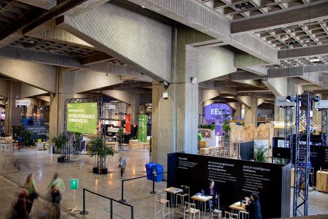 Impression pour projet événementiel à Montréal