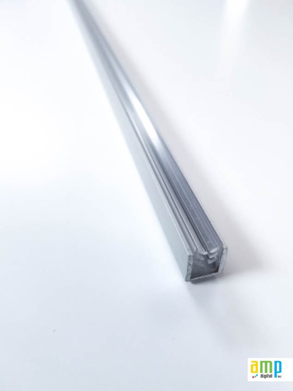 Aluminum molding for acrylic protection (plexiglass)