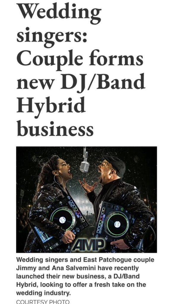 Long Island Advance AMP DJ/BAND HYBRID