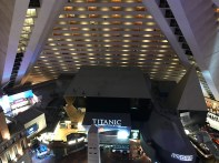 The view of the Luxor from 22 floors up