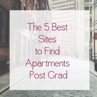 The 5 Best Sites to Find Apartments Post Grad