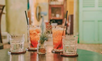 Romantic cocktails during quarantine