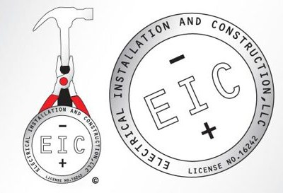 EIC LLC Electrical Contractors Branding, Logo Design