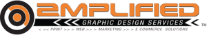 Amplified Graphic Design Services, Brand, Logo