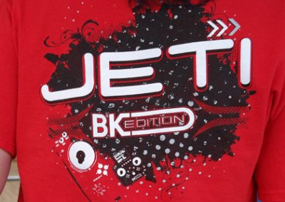 Jeti Promotional T Shirt Design