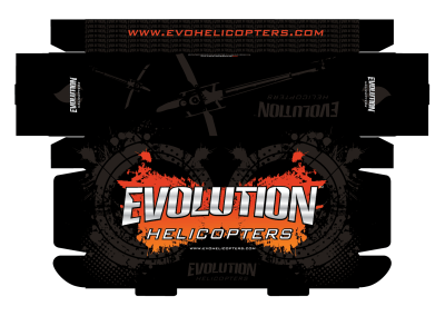 Evolution Helicopters Package Design