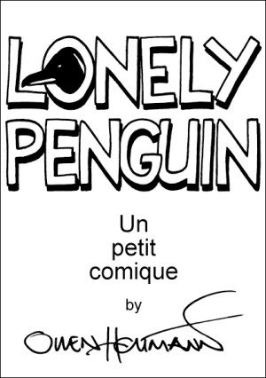 'Lonely Penguin' cover by Owen Heitmann