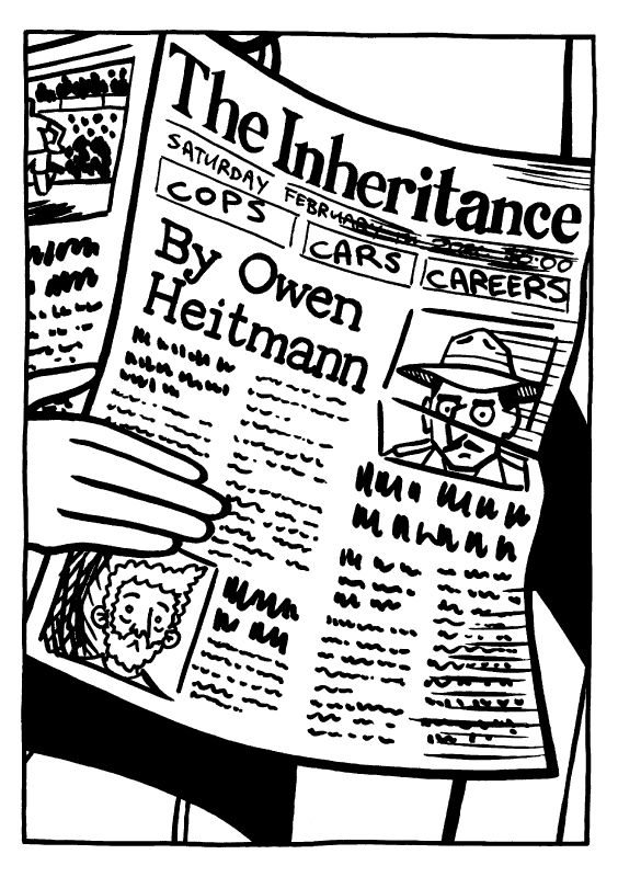 'The Inheritance' page 1 by Owen Heitmann