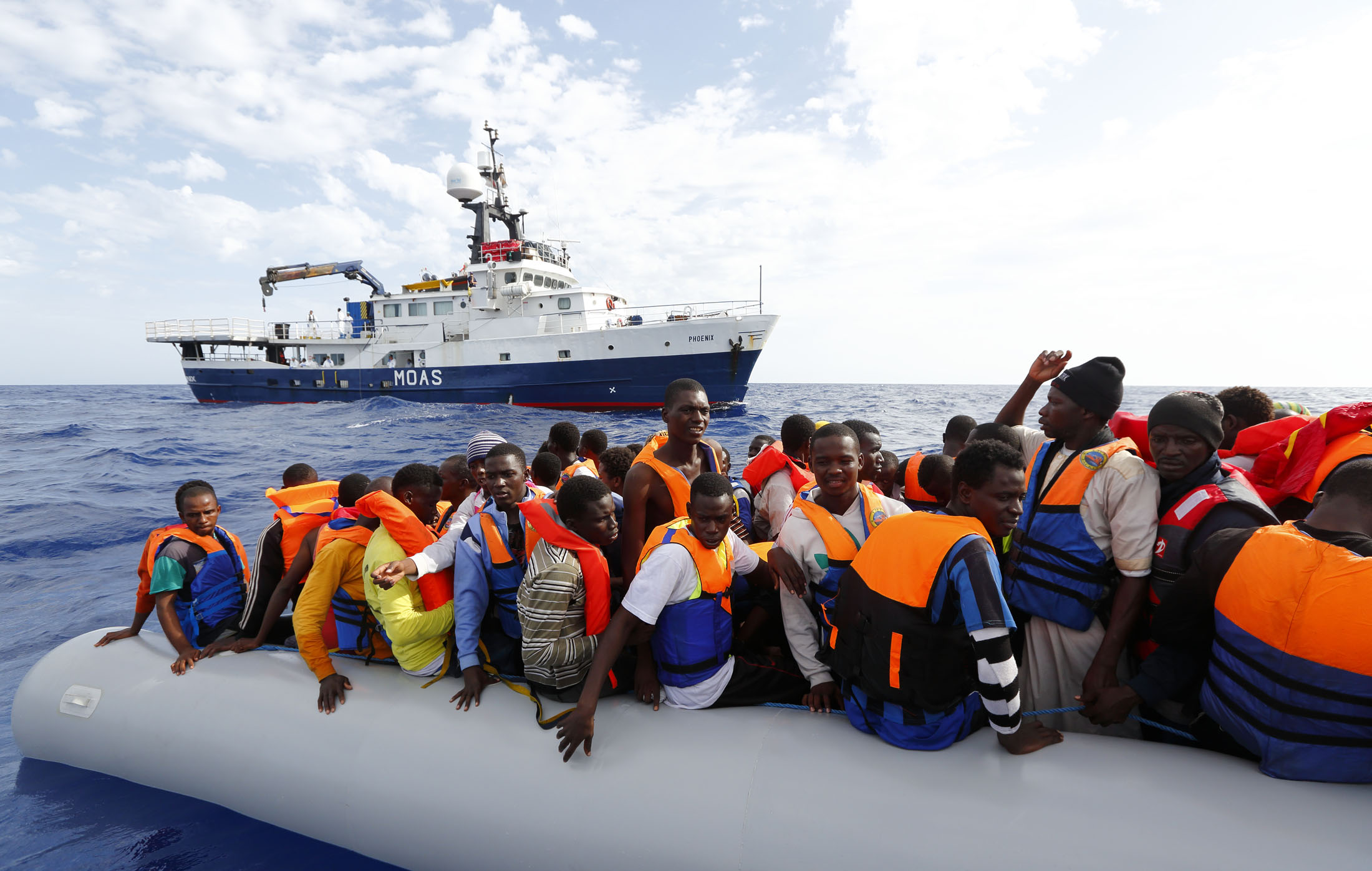 Image result for migrant rescue ships, photos