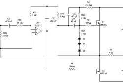 Class A Power Amplifier based Op-amp TL071C