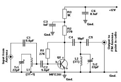 Active FM Amplifier