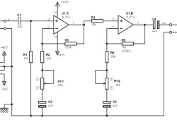 Low Cost Pre-amplifier Circuit based TL072