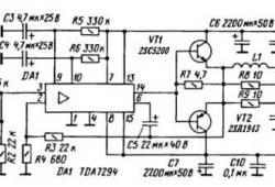 Monoblock Car Amplifier TDA7294