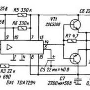 Car Amplifier Circuit 2x40W based TDA8560Q - Amplifier Circuit Design