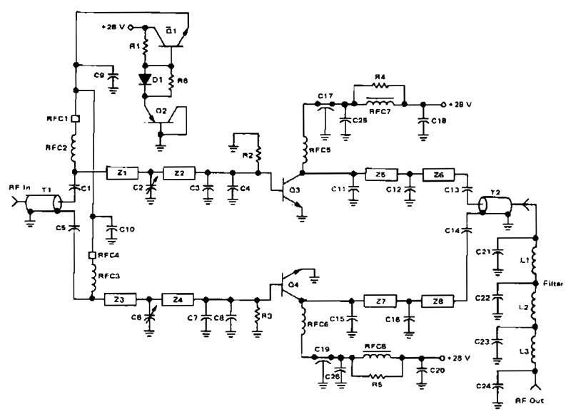 100 watt linear amplifier