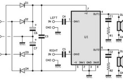 30W Stereo power amplifier based TDA 1521