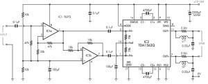 36 watt power amp based TDA1562q