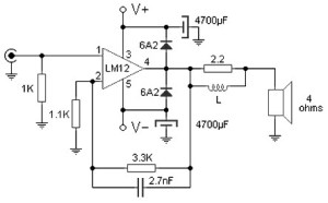 100 W amplifier based M12CLK