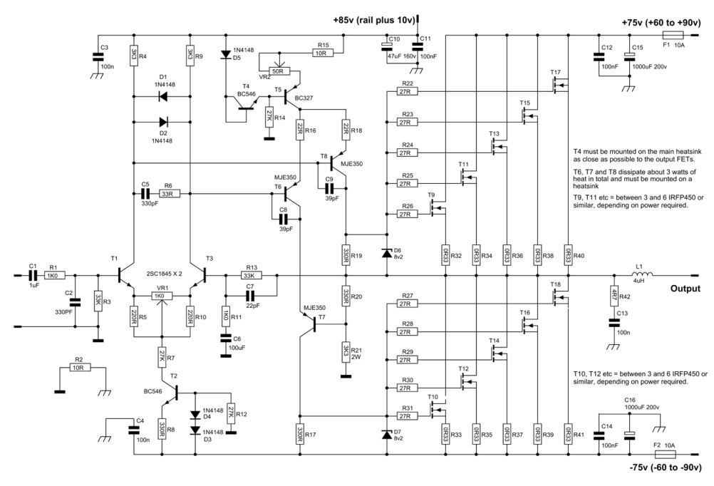 Fabulous Mosfet Amplifier Archives Amplifier Circuit Design Wiring Cloud Oideiuggs Outletorg