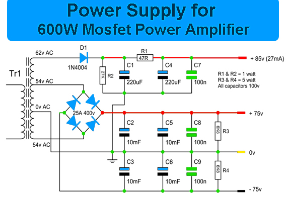 5000 watts amplifier schematic diagrams 600w mosfet power amplifier amplifier circuit design  600w mosfet power amplifier amplifier