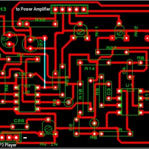 Tone Control PCB Design for Car Amplifier