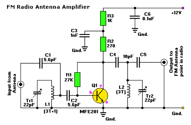 amplifier circuit design amplifier project scheme diagram 12v audio amplifier circuit diagram amplifier with universal preamplifier